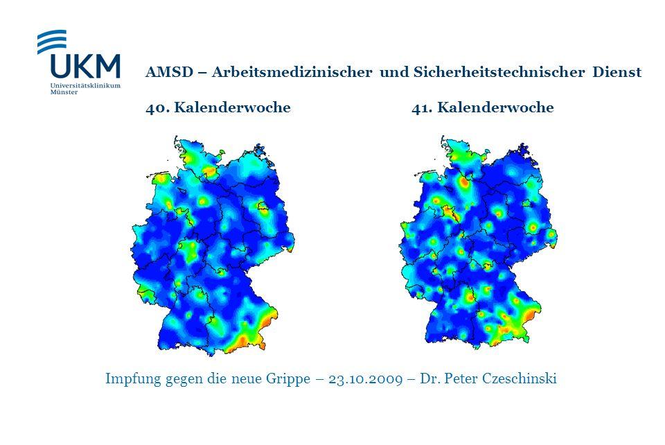 Impfung gegen die neue Grippe – 23.10.2009 – Dr. Peter Czeschinski