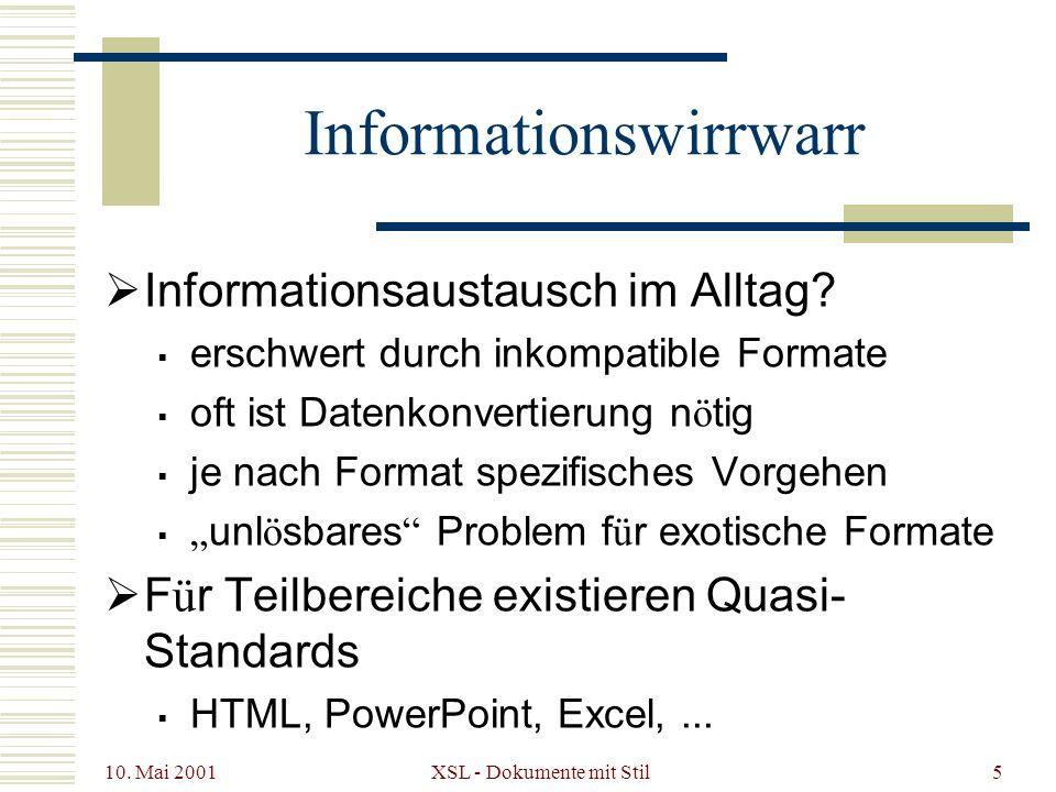 Informationswirrwarr