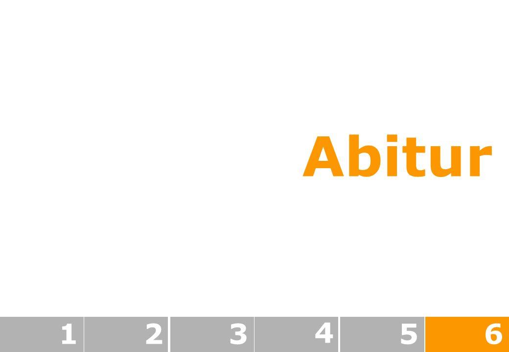 Abitur 1 2 3 4 5 6