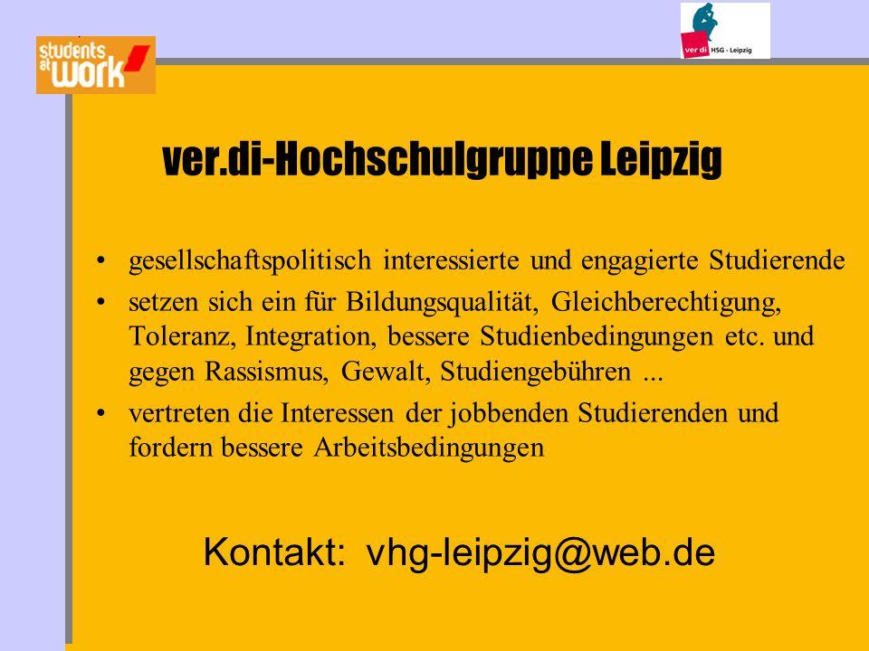 ver.di-Hochschulgruppe Leipzig