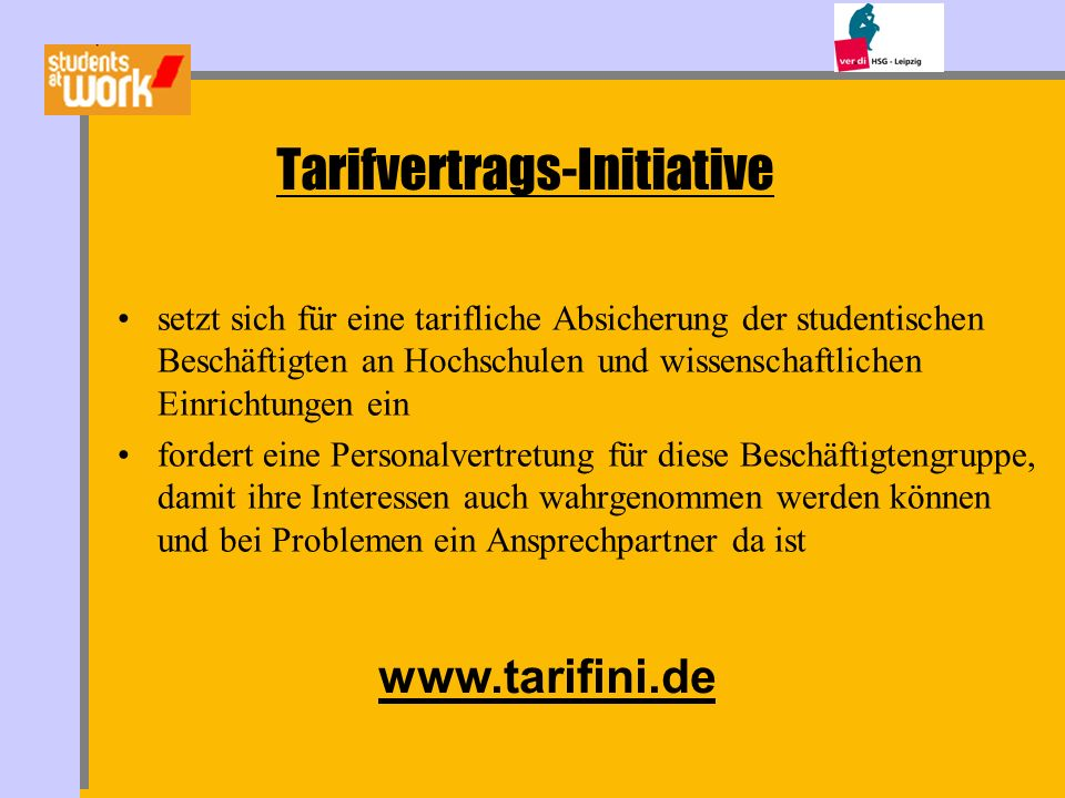 Tarifvertrags-Initiative