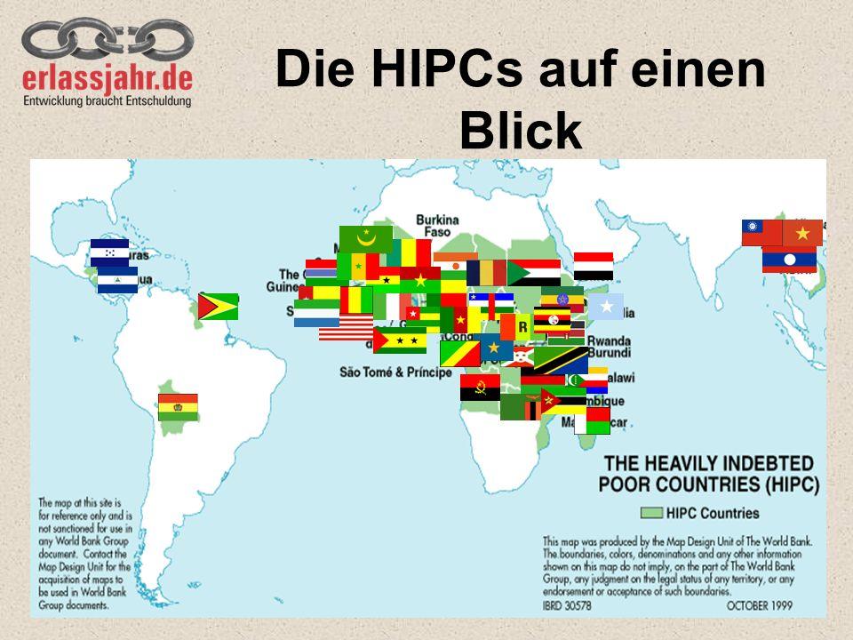 Die HIPCs auf einen Blick