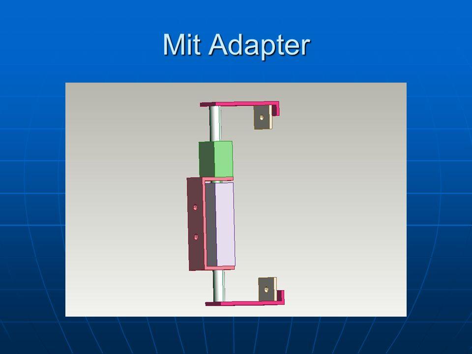 Mit Adapter