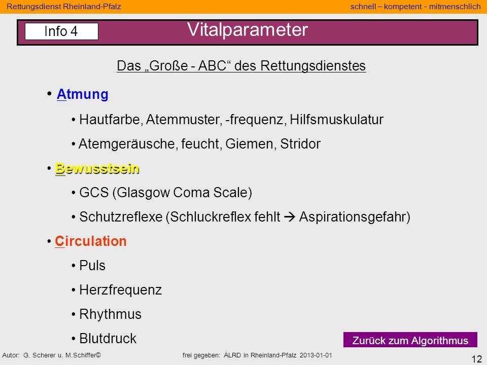 """Das """"Große - ABC des Rettungsdienstes"""