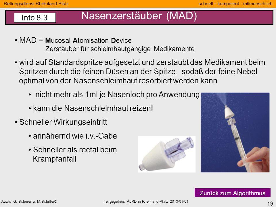 Nasenzerstäuber (MAD)
