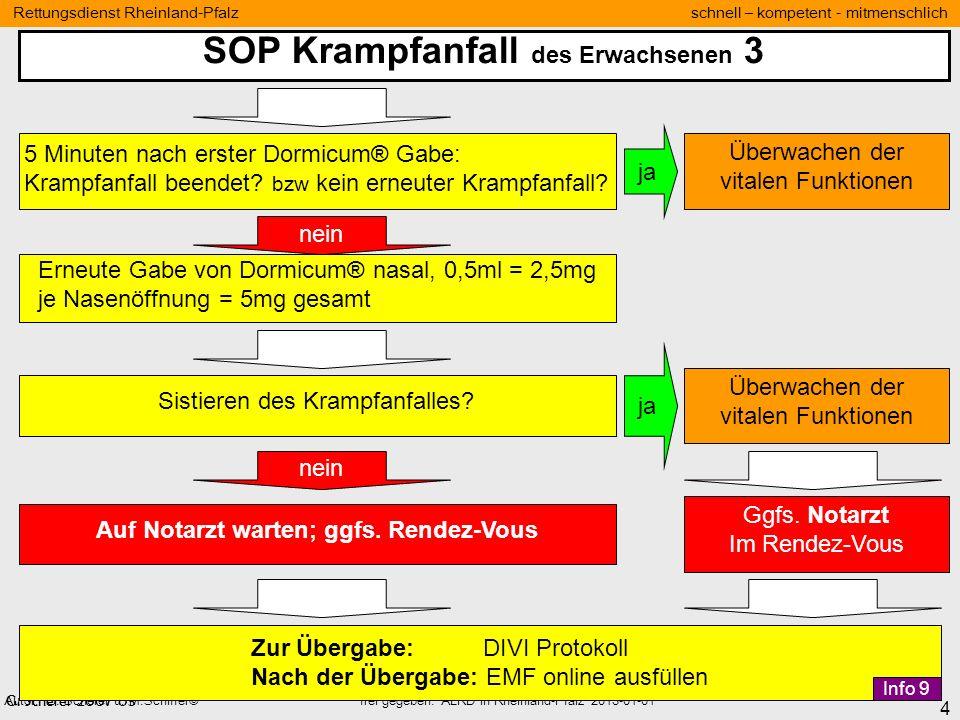 SOP Krampfanfall des Erwachsenen 3