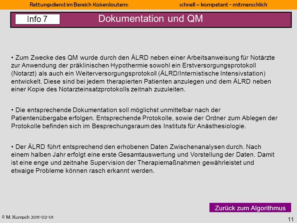 Dokumentation und QM Info 7