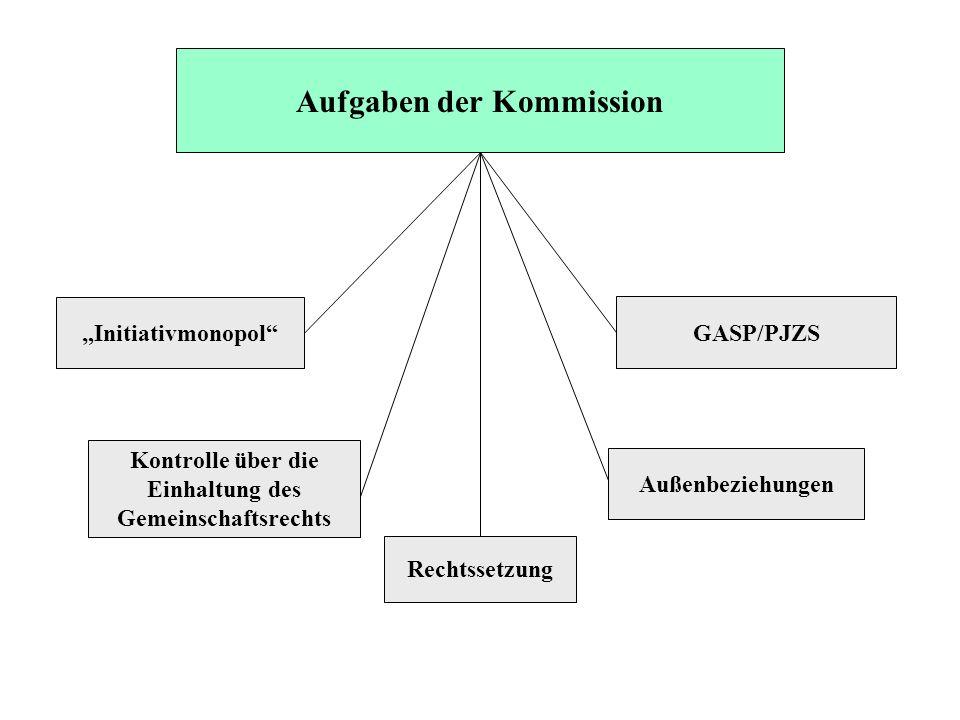 Aufgaben der Kommission