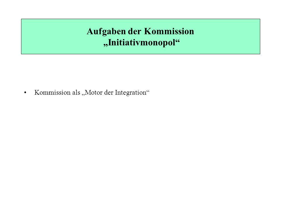 """Aufgaben der Kommission """"Initiativmonopol"""