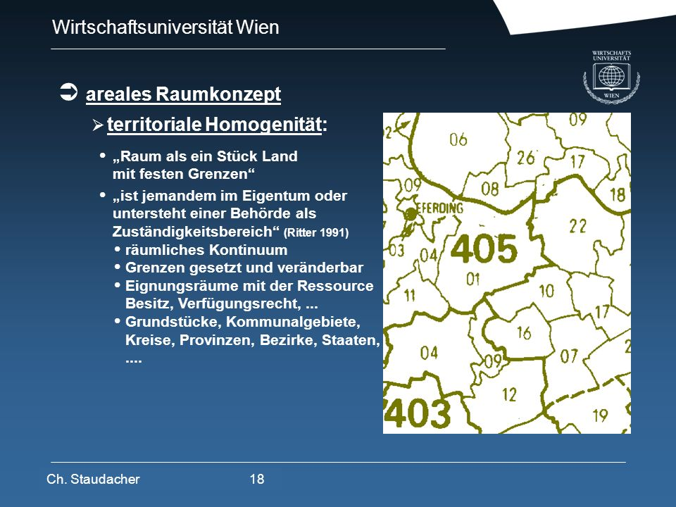 territoriale Homogenität: