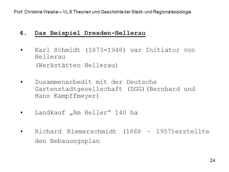 Das Beispiel Dresden-Hellerau