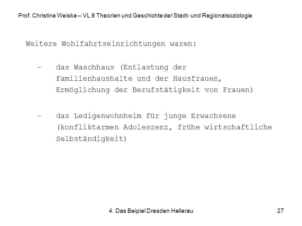 4. Das Beipiel Dresden Hellerau