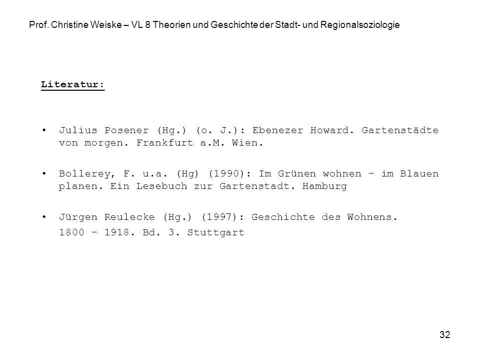 Jürgen Reulecke (Hg.) (1997): Geschichte des Wohnens.