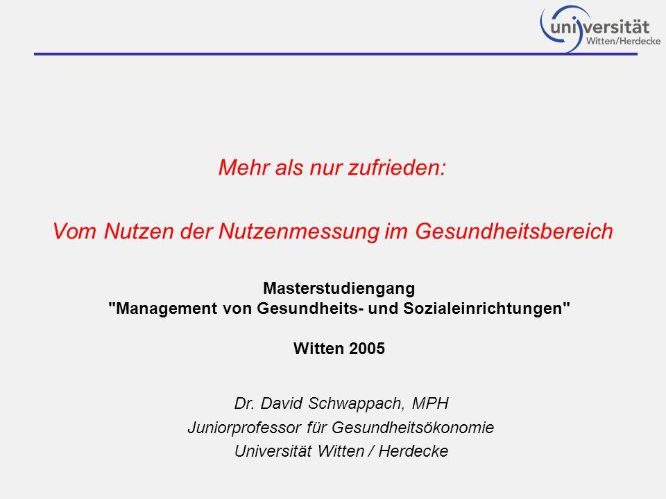 Management von Gesundheits- und Sozialeinrichtungen