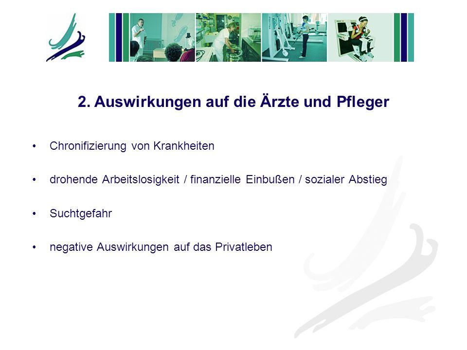 2. Auswirkungen auf die Ärzte und Pfleger
