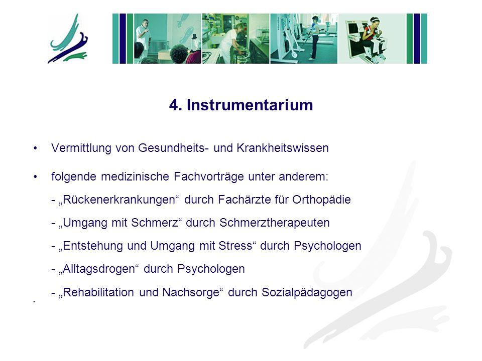 4. Instrumentarium Vermittlung von Gesundheits- und Krankheitswissen