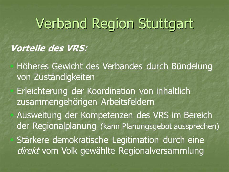 Verband Region Stuttgart