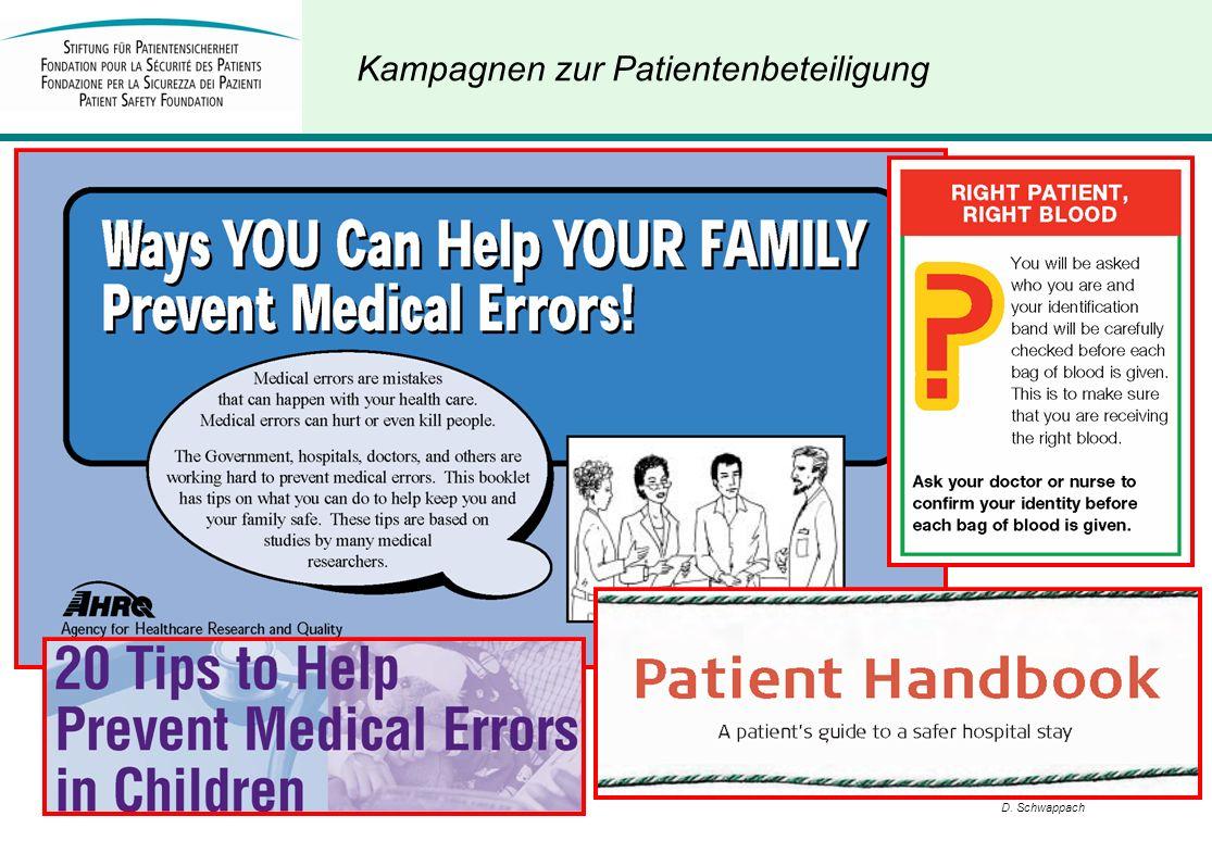 Kampagnen zur Patientenbeteiligung
