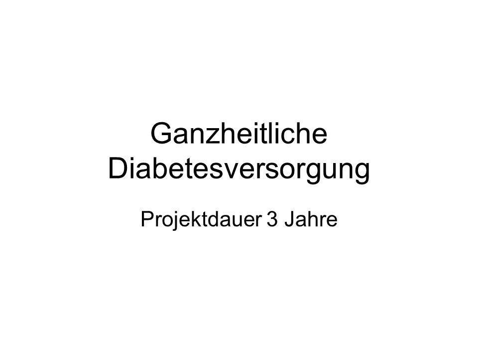 Ganzheitliche Diabetesversorgung