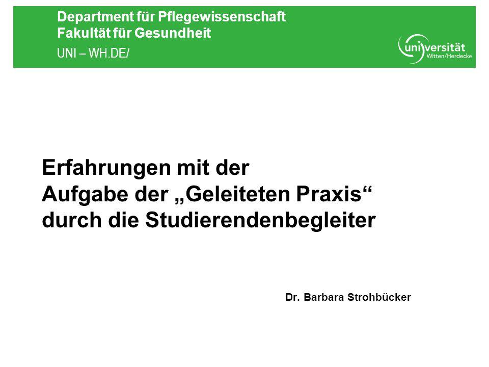 Dr. Barbara Strohbücker