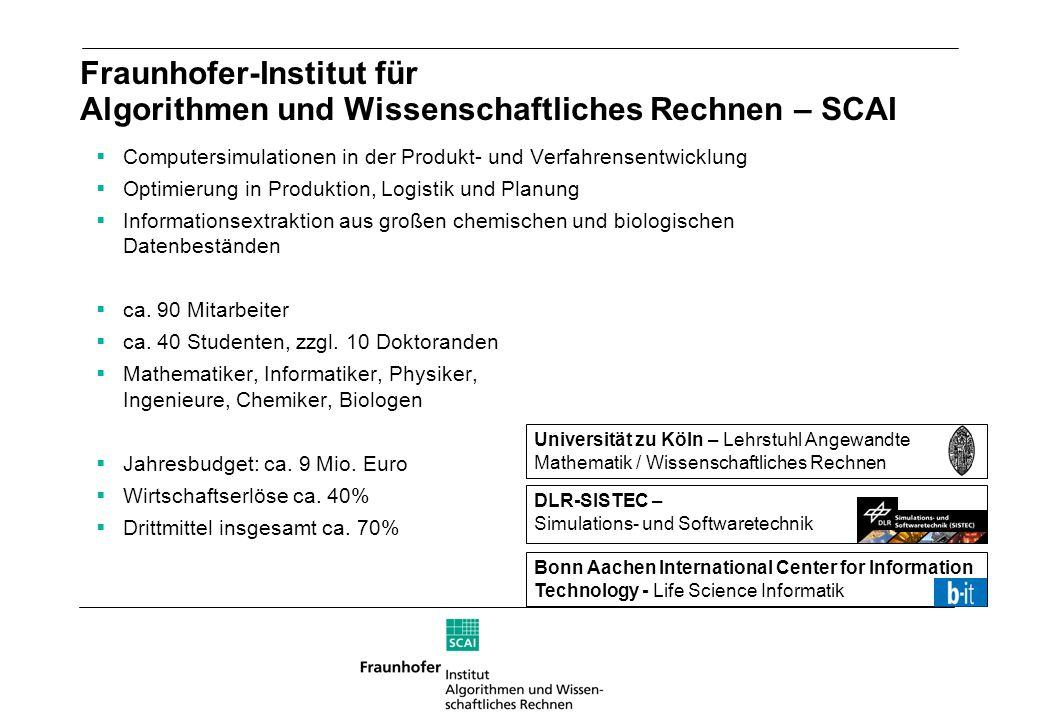 Fraunhofer-Institut für Algorithmen und Wissenschaftliches Rechnen – SCAI