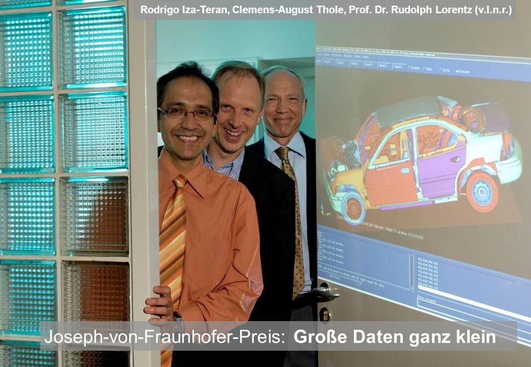 Joseph-von-Fraunhofer-Preis: Große Daten ganz klein
