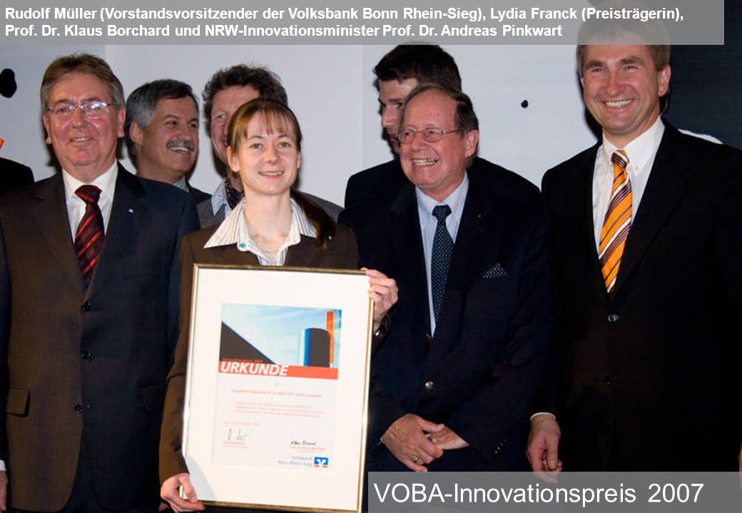 VOBA-Innovationspreis 2007