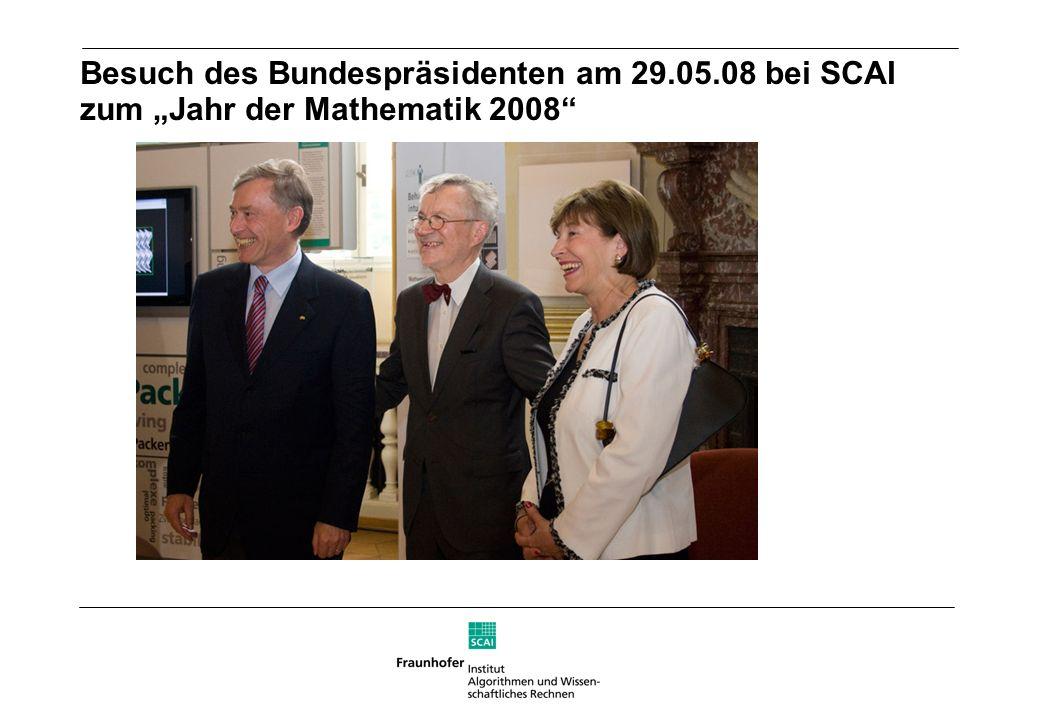 Besuch des Bundespräsidenten am 29. 05