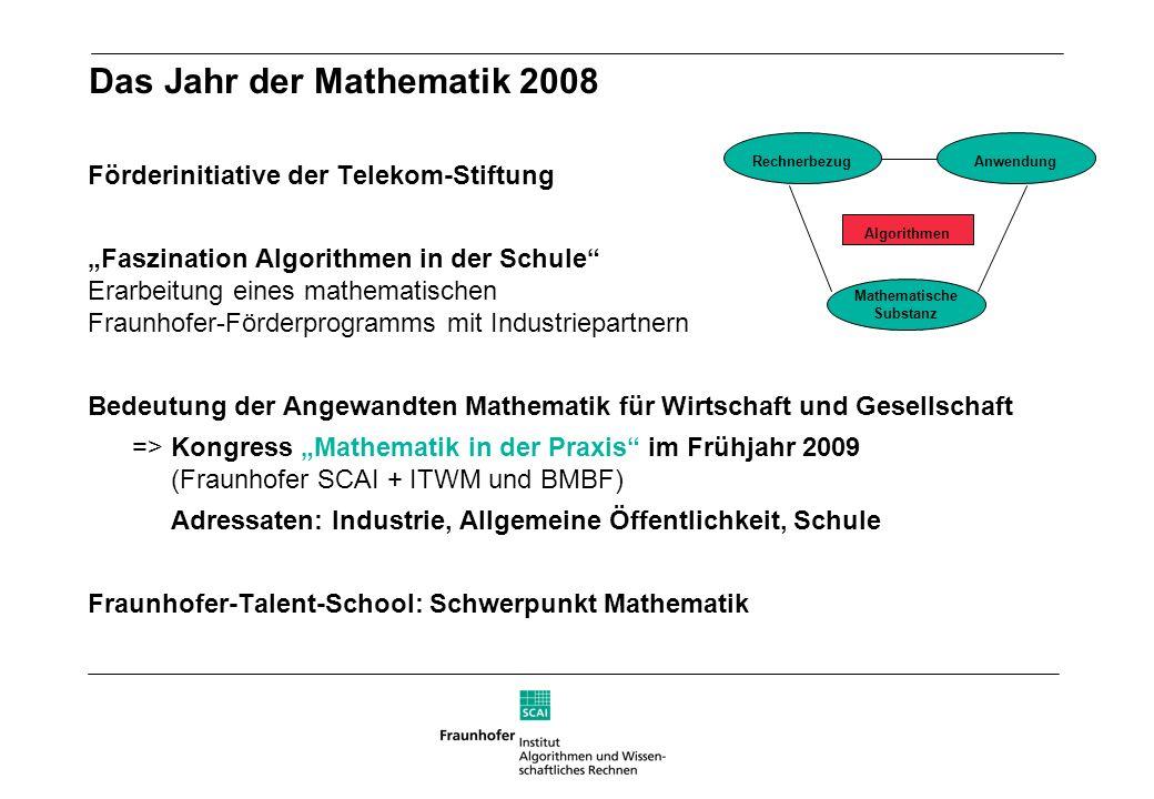Das Jahr der Mathematik 2008