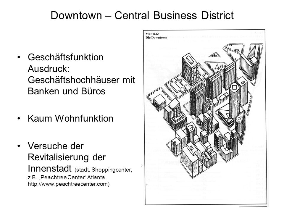 Downtown – Central Business District