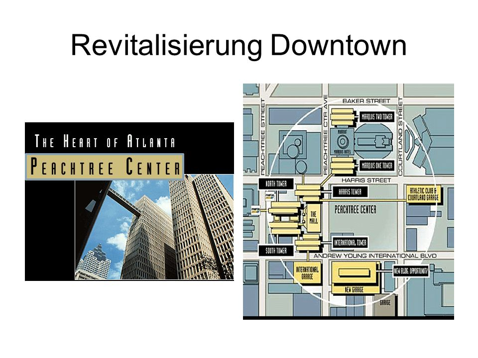 Revitalisierung Downtown