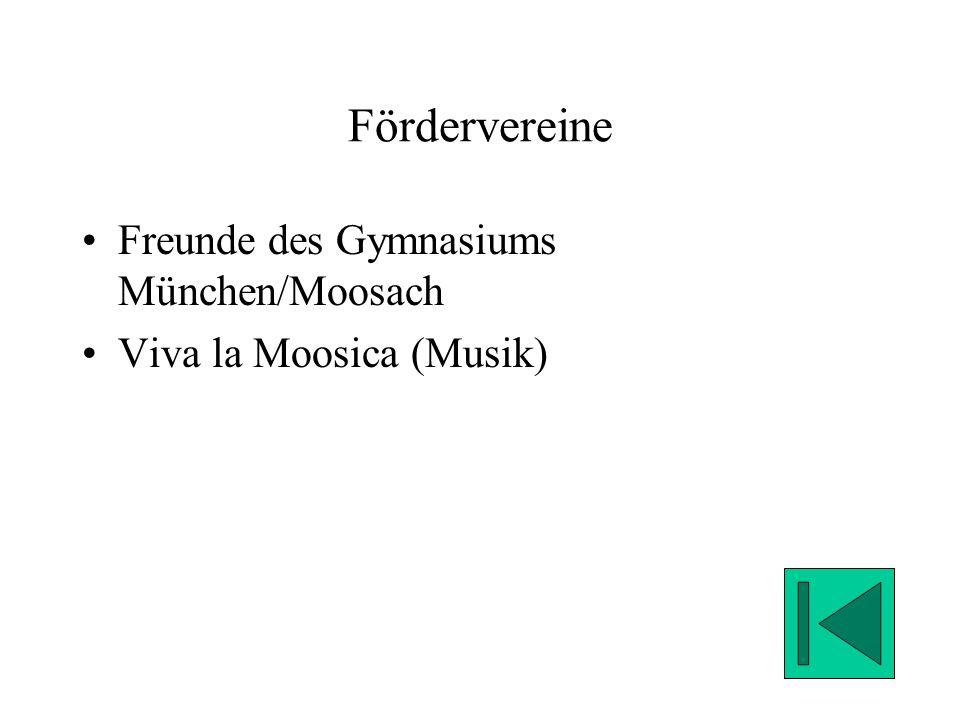 Fördervereine Freunde des Gymnasiums München/Moosach