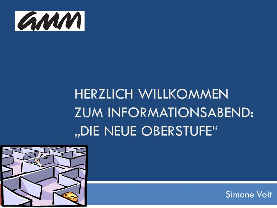 """Herzlich willkommen zum Informationsabend: """"Die Neue Oberstufe"""