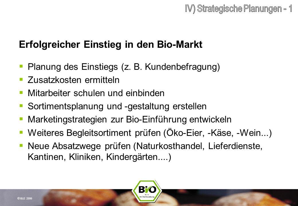 Erfolgreicher Einstieg in den Bio-Markt