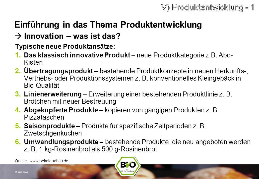 Einführung in das Thema Produktentwicklung