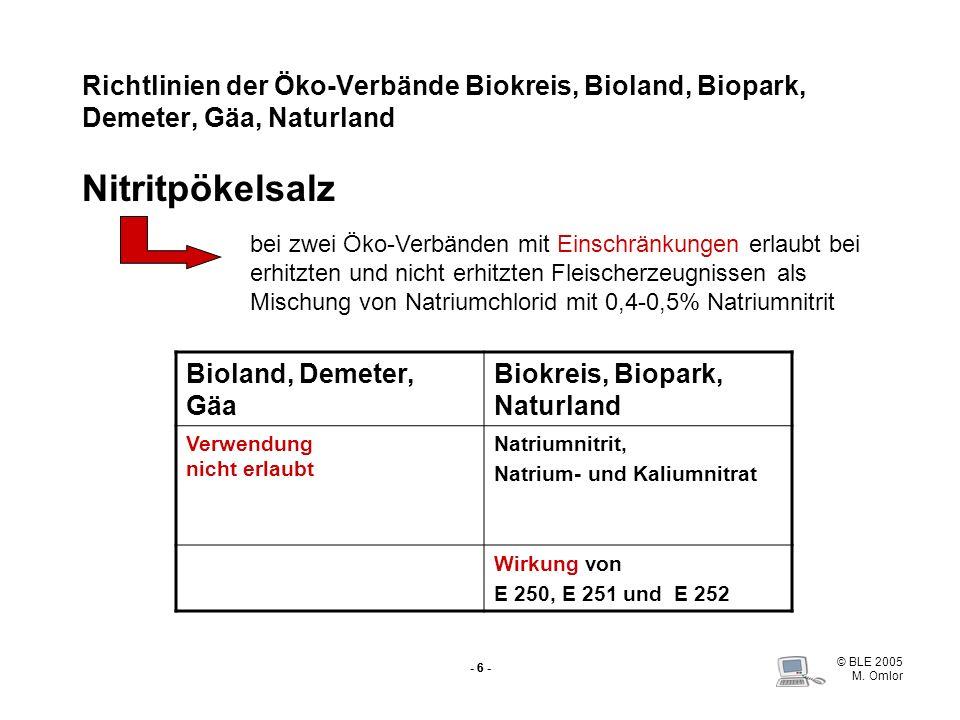 Biokreis, Biopark, Naturland