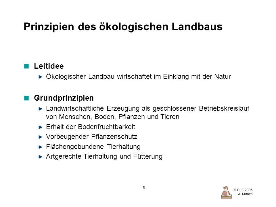 Prinzipien des ökologischen Landbaus