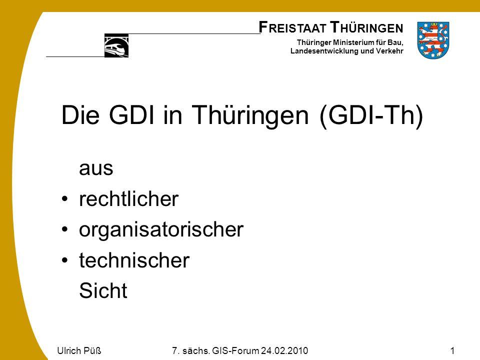 Die GDI in Thüringen (GDI-Th)