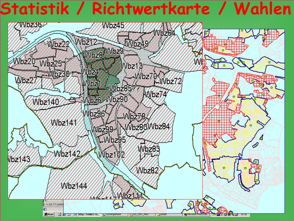 Statistik / Richtwertkarte / Wahlen
