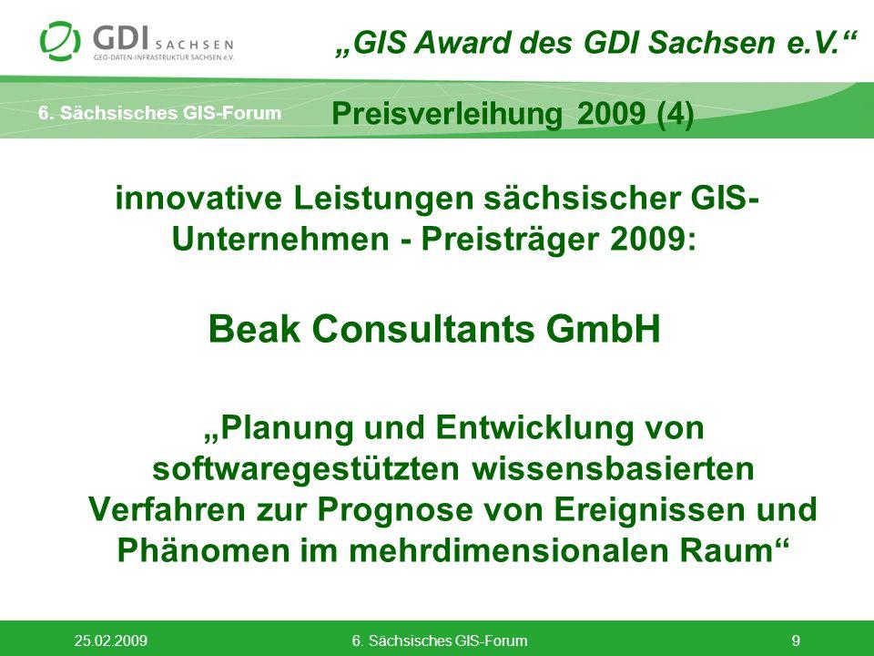 6. Sächsisches GIS-Forum