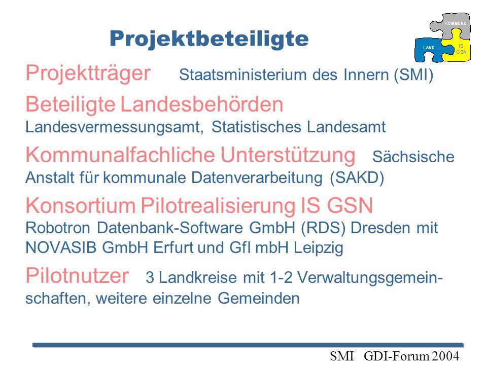 Projektträger Staatsministerium des Innern (SMI)