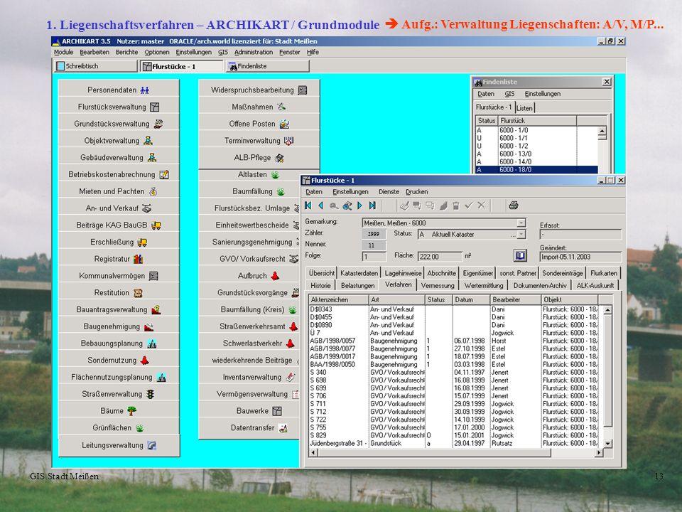  Aufg.: Verwaltung Liegenschaften: A/V, M/P...