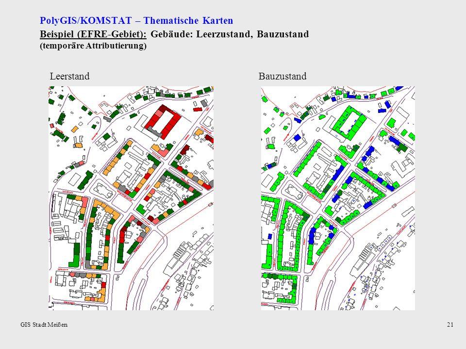 PolyGIS/KOMSTAT – Thematische Karten