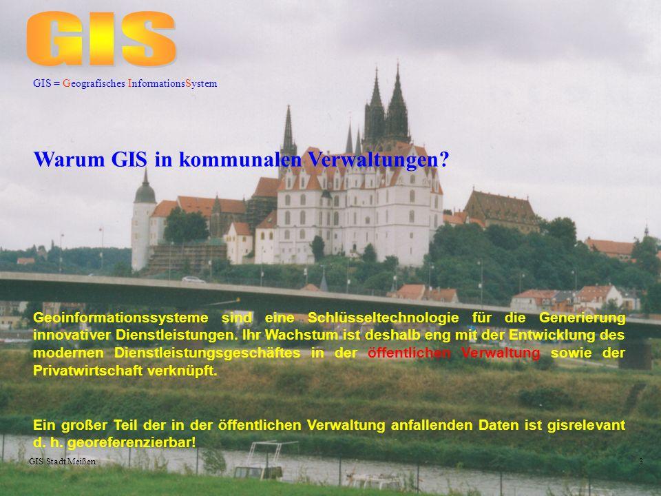 GIS Warum GIS in kommunalen Verwaltungen