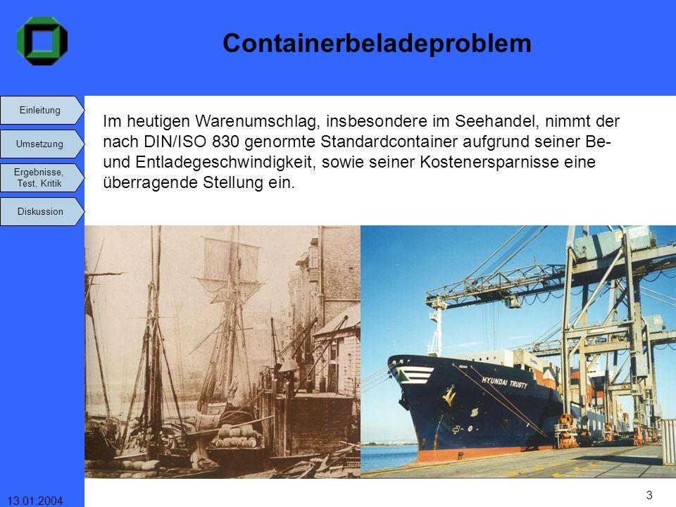 Containerbeladeproblem