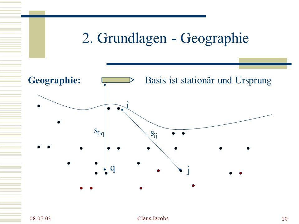 2. Grundlagen - Geographie