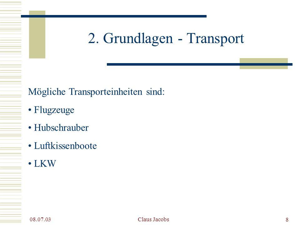 2. Grundlagen - Transport