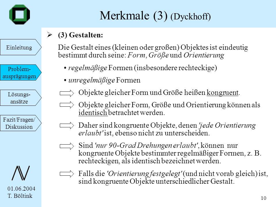 Merkmale (3) (Dyckhoff)