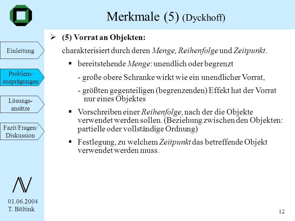 Merkmale (5) (Dyckhoff)