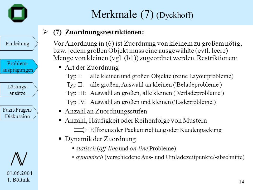 Merkmale (7) (Dyckhoff)